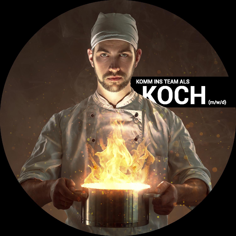 Stellenanzeige Koch